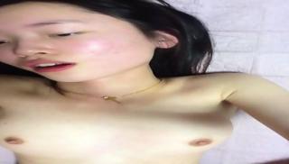 Slim Chinese Teen Enjoys Fuck