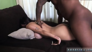 Hot brunette babe masturbating first time Mia Khalifa Tries A Big Black Dick