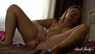 Mature Lady Panty Play