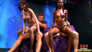 Bukkake Gangbang WIth Mimi Zara And Aymie The Sweet And The Sperm