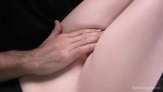 Pale Agony Girl Alex Harper Receives All Her Gaps Loaded
