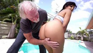 Grandpa Bangs My Yoga Butt
