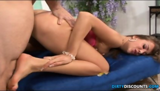 Feet Worshiped Squirter Licks Up Cumload