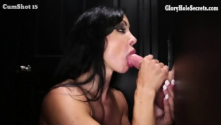 Jewels Jade Visits Glory Hole