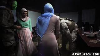 Arab fucks white wife Sneaking in the Base!