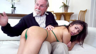Grandpa Can\'t Stop Staring At Her