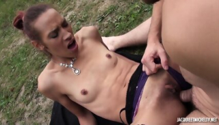 Outdoor Meeting With Sexy Model