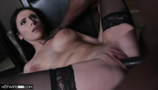 Sexy Wifey Filled With Large Black Sausage