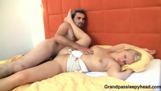 Sleeping Beauty Gets Fucked By Mature Guy