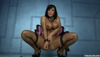 Hot Woman With Big Tits And Tight Fishnets