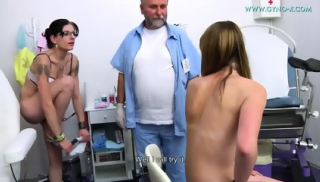 Doctor Touches Her Sweet Vagina